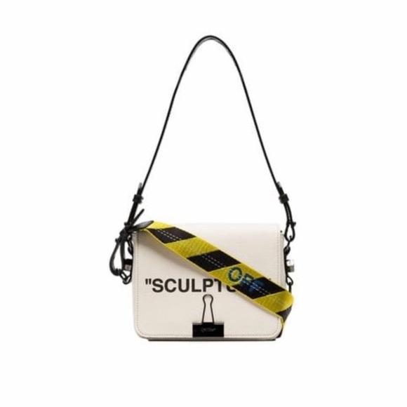 e573ac7930dc Off-White Bags | Offwhite Cream Co Virgil Abloh Sculpture Leather ...